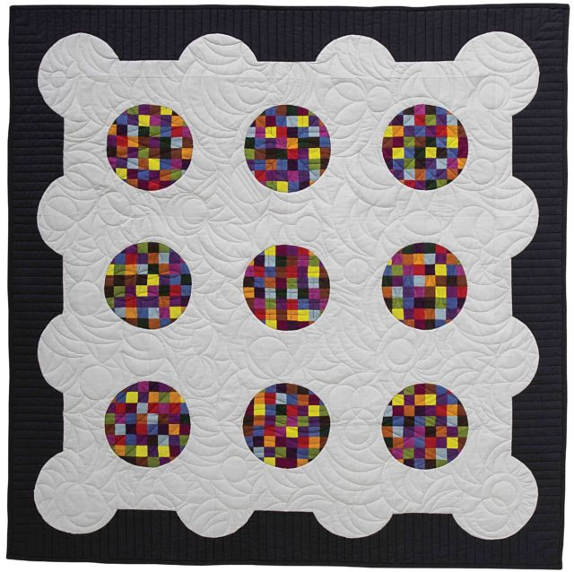Big Rig Quilting - Checker Board - Drunkard's Path Quilt