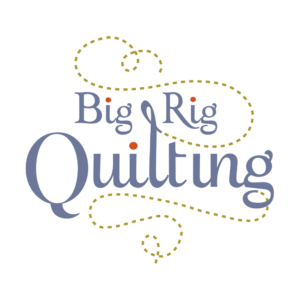 Big Rig Quilting - Logo