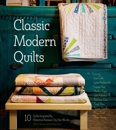 Page 3 of A new spin on Drunkard's Path - John Kubiniec of Big Rig QuiltingBook: Classic Modern Quilts