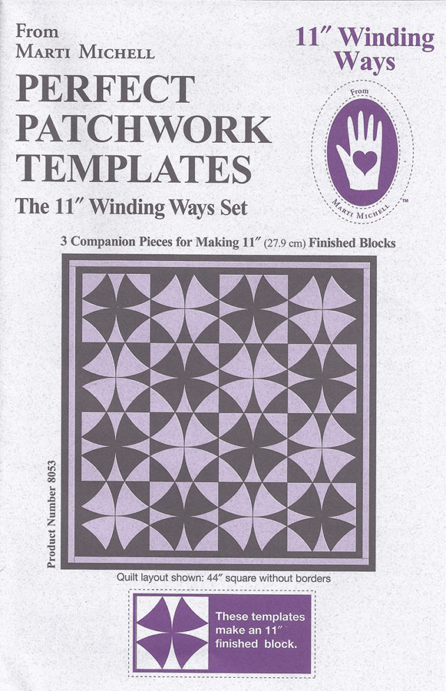 Marti Michell – Winding Ways Template 8 1/2″ – Big Rig Quilting : quilting gadgets 2016 - Adamdwight.com