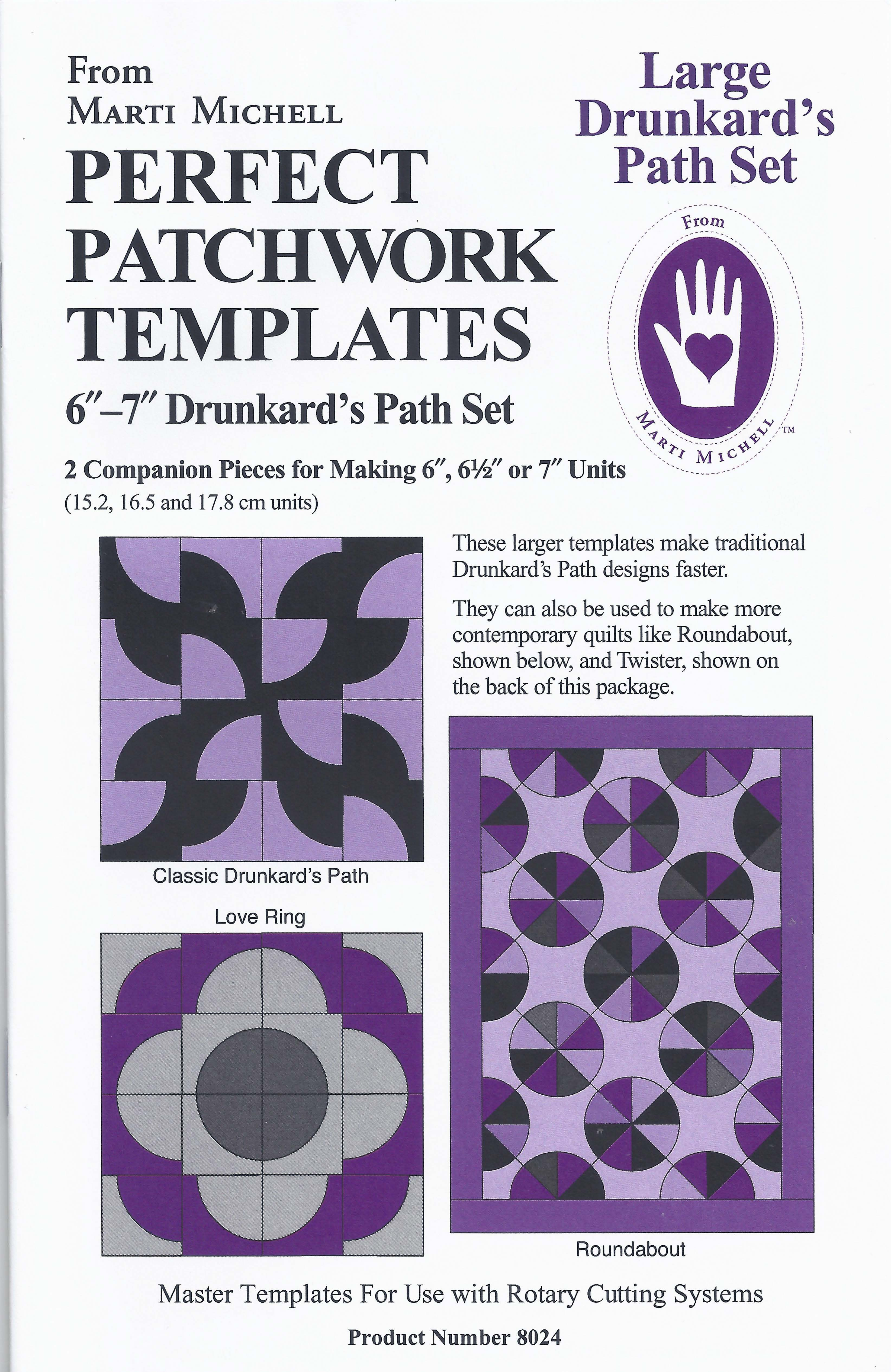 a new spin on drunkards path and template combo big rig quilting