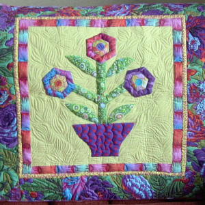 Big Rig Quilting - John Kubiniec: Flower Garden