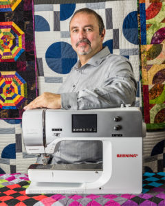 Big Rig Quilting: John Kubiniec Profile Photo as Bernina Ambassador