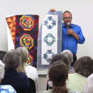 Big Rig Quilting: John Kubiniec Teaching