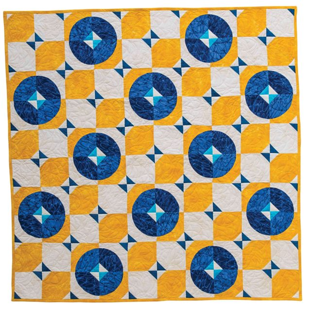 Big Rig Quilting - Tile Floor Quilt