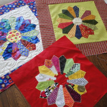 dresden plate blocks big rig quilting
