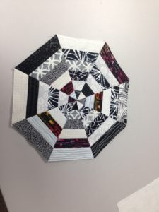 kaleidoscope block big rig quilting