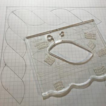 Westalee Design Rulers, Rope Border